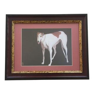 Judy Henn Greyhound Dog Print