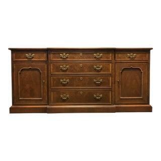 HENREDON 18th Century Portfolio Banded Walnut Sideboard Credenza