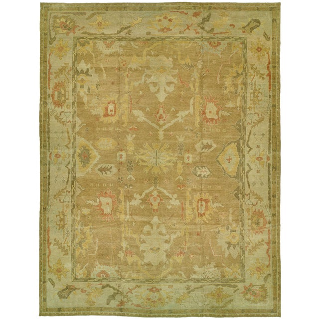 Turkish Oushak Rug - 12'4'' x 16'2'' - Image 1 of 6