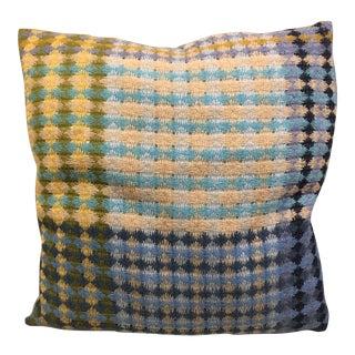 Missoni Blue & Yellow Wool Pillow