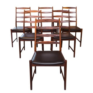 Arne Vodder Rosewood Dining Chairs - Set of 6