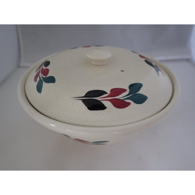 Vintage Hand Painted Lidded Bowl - Image 2 of 7