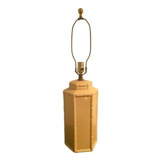 Mid-Century Hollywood Regency Style Ceramic Lamp