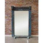 Image of Turquoise Vintage Floor Mirror