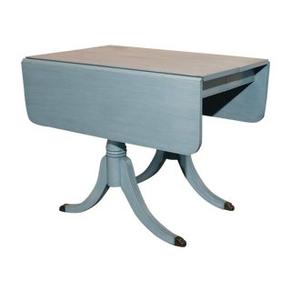 Shabby Chic Pale Blue Dining Table