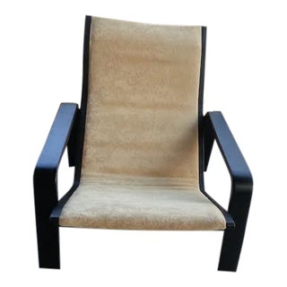 1960's Danish Modern Sling Lounge Chair
