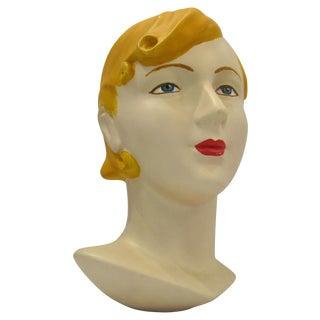 Blonde Vintage Mannequin Head