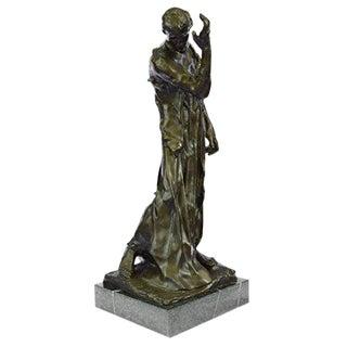 Pierre De Wiessant Monumental Bronze Sculpture