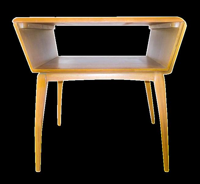 Mid-Century Modern Heywood Wakefield Side Table : Chairish