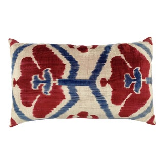 Transitional Designer Ikat Pillow