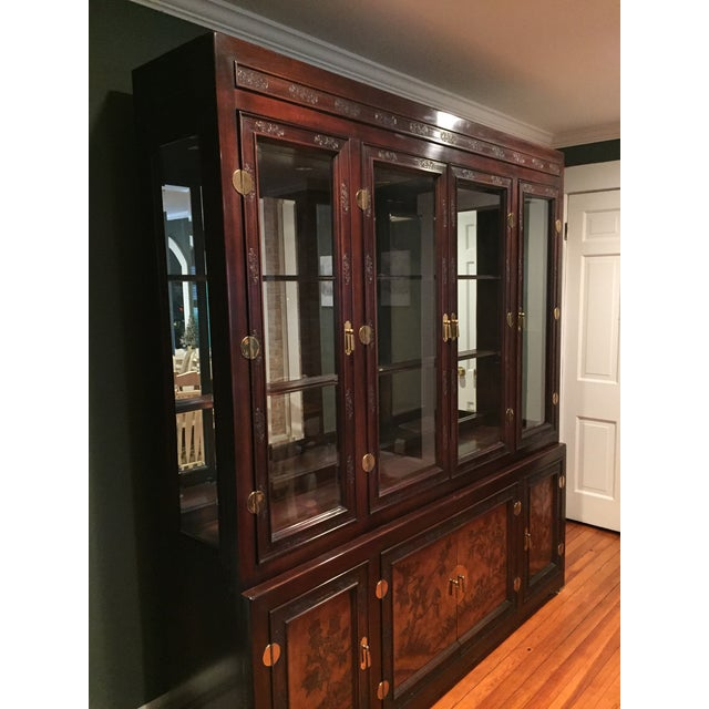 Bernhardt Credenza and China Cabinet - Image 3 of 7
