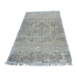 Tribal Oushak Rug - 3′10″ × 6′1″