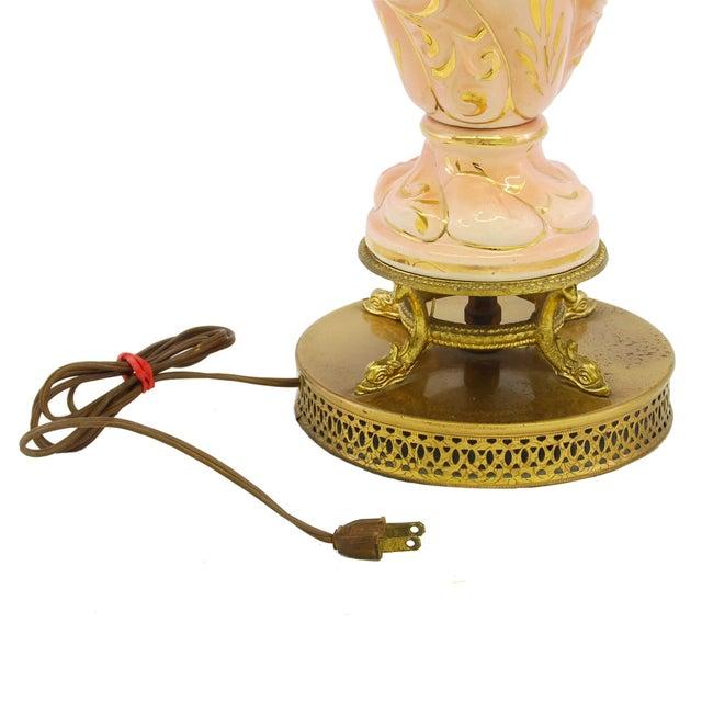Vintage Capodimonte Italian Porcelain Lamp Chairish
