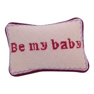 Valentine Needlepoint Pillow