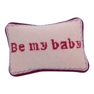 Valentine Needlepoint Pillow