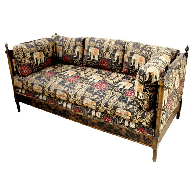 Vintage Indian Or Bali Style Daybed Sofa Chairish