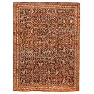 Exceptional Antique Persian Kurdish Carpet
