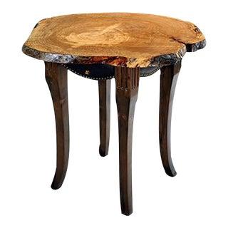 Classic Burl High Top Table