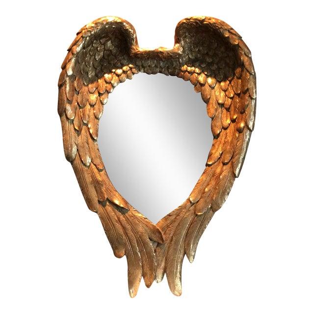 Gilded Angel Wings Mirror - Image 1 of 8