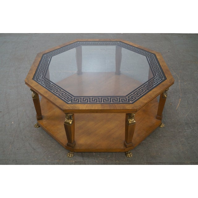 Baker Egyptian Revival Coffee Table Image 3 Of 10
