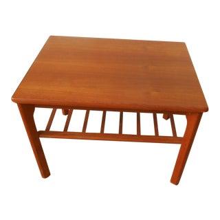 Mobelfabrikken Toften Mid-Century Danish Modern Teak End Table