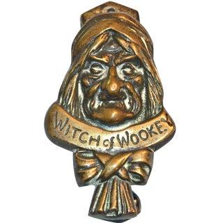 Witch 1927 Bronze Door Knocker