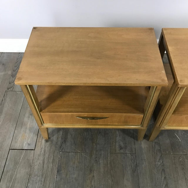Mid Century Nightstands - a Pair - Image 5 of 11