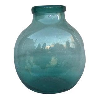 Hand Blown Glass Pharmacy Jar
