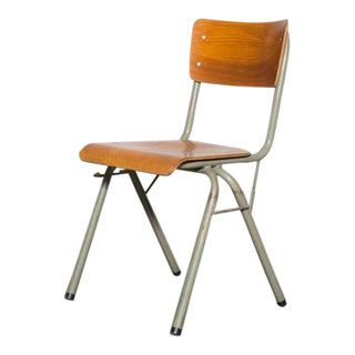 Tubax Birch Stacking School Chair with Side Hooks