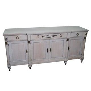 Century Furniture Vintage Whitewash Painted Sideboard