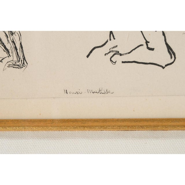 "Matisse ""Planche 2"" Portrait of a Woman Lithograph - Image 7 of 10"