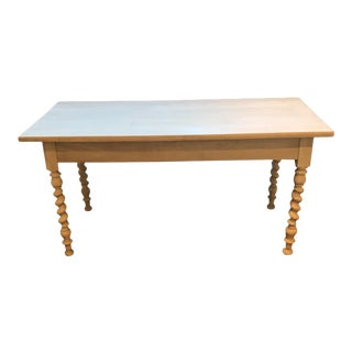 Antique White Washed Table