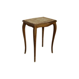 1930s Venetian Gilded Wood Side Table