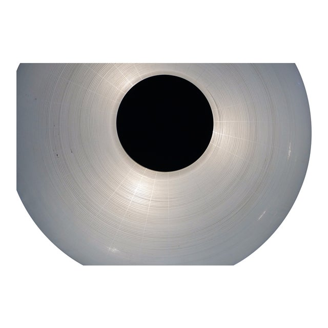 Mid-Century glass flush mount - Image 3 of 4