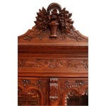 Image of Antique Armoire Normandy French Country Birds