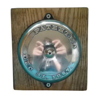Antique Patented 1867 Doorbell