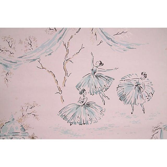 Vintage Ballerina Wallpaper - Set of 4 - Image 2 of 4