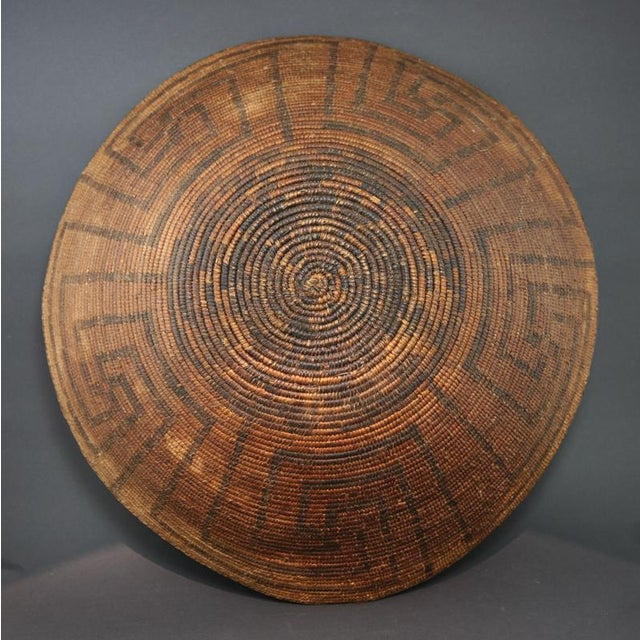 Pima Wine Basket, circa 1890 - Image 3 of 5