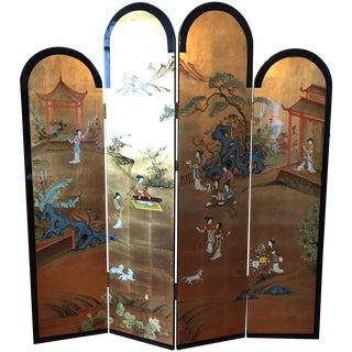 Asian Coromandel Room Divider or Screen
