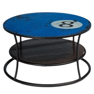Sarreid Ltd. Eight Ball Coffee Table