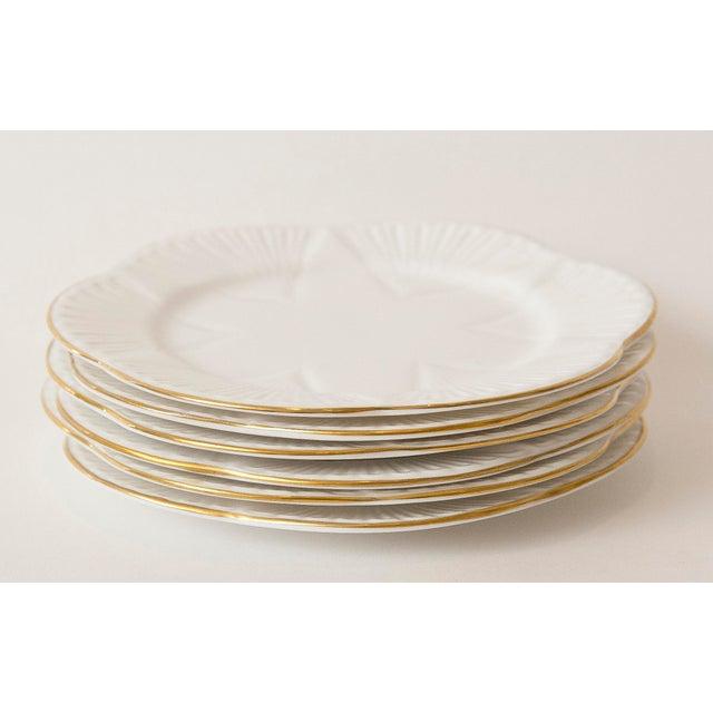 Vintage Shelley Fine Porcelain Dessert Plates -S/6 - Image 5 of 9