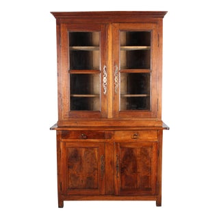 19th-C. French Provincial Hutch