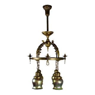 Superior Quality Converted Gas to Electric Fixture by Beardslee