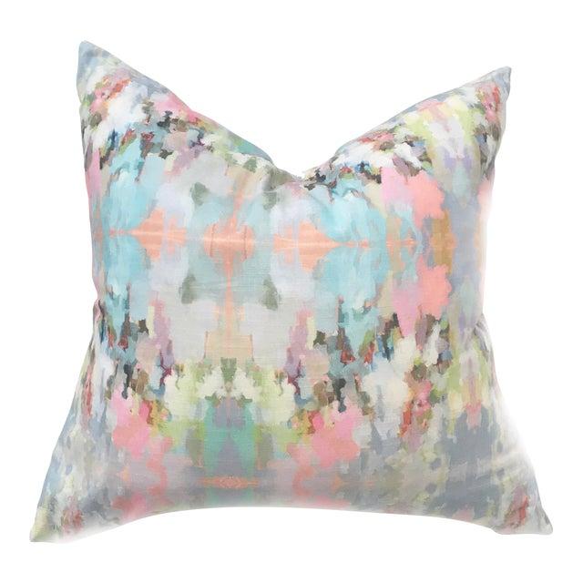 Laura Park Designs Brooks Avenue Linen-Cotton Pillow - Image 1 of 4