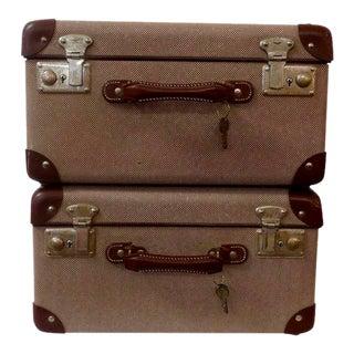 1940s Vintage Salesman Cases - a Pair