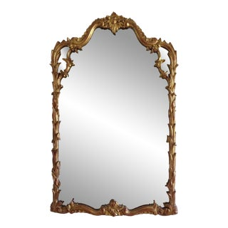 Italian Venetian Gilt Carved Mirror
