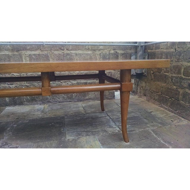 Image of 1950's Robsjohn Gibbings Saber Leg Coffee Table