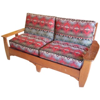 1940s Cowboy Loveseat