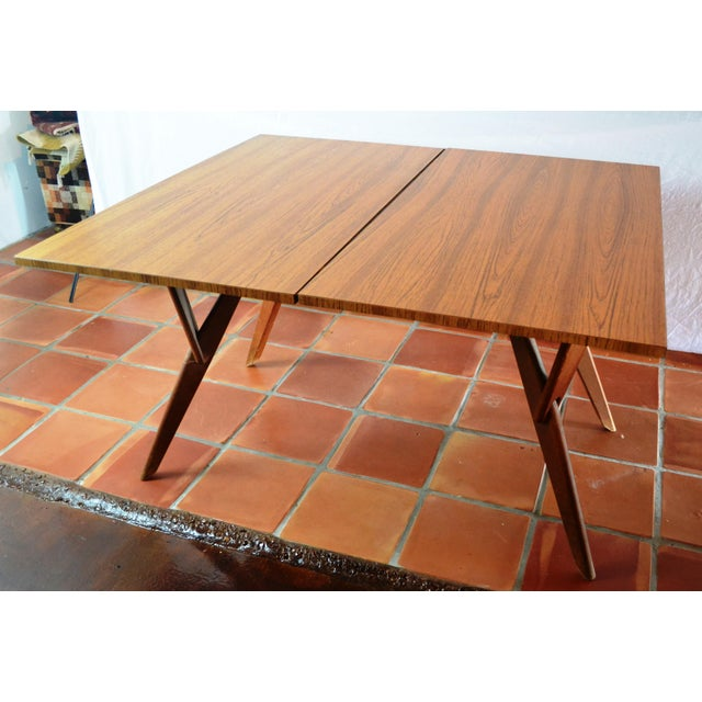 Mid-Century Convertible Castro Dining/Coffee Table - Image 2 of 11