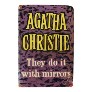 Agatha Christie They Do It With Mirrors, First Ed., 1952